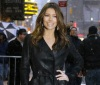 Jessica Biel arrives at the at the Ed Sullivan Theatre on February 10th 2010 for The Late Show with David Letterman 3