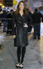 Jessica Biel arrives at the at the Ed Sullivan Theatre on February 10th 2010 for The Late Show with David Letterman 4