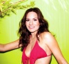 Kara Dioguardi photo shoot in February 2010 for Maxim magazine in a pink bikini