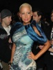 Amber Rose attends the Christian Siriano Fall 2010 fashion show on February 12th 2010 during Mercedes Benz Fashion Week in New York 3