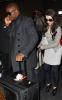 Kim Kardashian and Reggie Bush spotted at McCarron International Airport on February 13th 2010 in Las Vegas Nevada 1