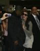 Kim Kardashian and Reggie Bush spotted at McCarron International Airport on February 13th 2010 in Las Vegas Nevada 4