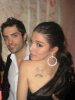 Lara Scandar and Mohammad Bash at the private party held for the launch of Mission is You on February 4th 2010 in Cairo Egypt 4