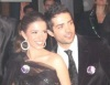 Lara Scandar and Mohammad Bash at the private party held for the launch of Mission is You on February 4th 2010 in Cairo Egypt 3