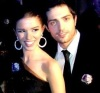 Lara Scandar and Mohammad Bash at the private party held for the launch of Mission is You on February 4th 2010 in Cairo Egypt 9
