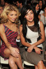 AnnaLynne McCord and Jessica Szohr attend the Jill Stuart Fall 2010 Fashion Show on February 15th 2010 during Mercedes Benz Fashion Week at the New York Public Library
