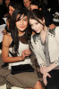 Jessica Szohr and Michelle Trachtenberg attend the Jill Stuart Fall 2010 Fashion Show on February 15th 2010 during Mercedes Benz Fashion Week at the New York Public Library 2