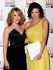 Kylie Minogue with her sister Dannii Minogue at the The ELLE Style Awards 2010 at the Grand Connaught Rooms on February 22nd 2010 in London England 1