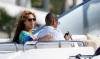 Beyonce and JayZ while at the luxururious yacht on February 20th 2010 in Miami Florida 8
