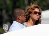 Beyonce and JayZ while at the luxururious yacht on February 20th 2010 in Miami Florida 4
