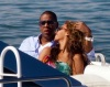 Beyonce and JayZ while at the luxururious yacht on February 20th 2010 in Miami Florida 5