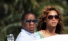 Beyonce and JayZ while at the luxururious yacht on February 20th 2010 in Miami Florida 2