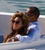 Beyonce and JayZ while at the luxururious yacht on February 20th 2010 in Miami Florida 7