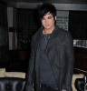 Adam Lambert picture while sitting for an interview at the Kimberly Hotels rooftop lounge on February 15th 2010 in New York City 3