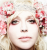 Courtney Love photo shoot for March 2010 issue of Spin magazine on its 25th anniversary edition 1