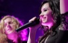 Demi Lovato performs on stage with We The Kings at the House of Blues on February 21st 2010 in Hollywood 3