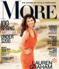 Lauren Graham photo shoot for the March 2010 issue of More magazine 1