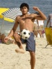 Jesus Luz seen with friends on the beach in Ipanema on February 24th 2010 at the south area of Rio de Janeiro Brazil 3