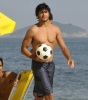Jesus Luz seen with friends on the beach in Ipanema on February 24th 2010 at the south area of Rio de Janeiro Brazil 9