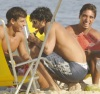 Jesus Luz seen with friends on the beach in Ipanema on February 24th 2010 at the south area of Rio de Janeiro Brazil 4