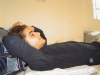 photo of Nassif El Zaytoun from Syria before star academy while sleeping