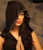 picture of Iraqi student Rahma Mezher as a model photo shoot 2
