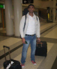 photo of Mohamad Ali Maghrabi from Egypt before star academy at the airport
