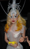Lady GaGa spotted wearing a silver lobster hat while arriving at Mr Chow restaurant on February 27th 2010 in London England 1