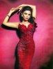 Haifa Wehbe large photo wearing a red dress