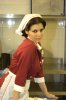 Haifa Wehbe large size photo wearing a red nurse outfit 2