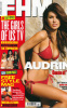 Audrina Patridge photo shoot for the April 2010 issue of FHM Magazine wearing a two pieces red bikini swim suit 3
