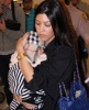 Kourtney Kardashian seen on March 2nd 2010 as she was arriving with her new born baby  at the Miami International Airport 2