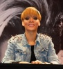 Rihanna picture while signing autographs for fans on March 4th 2010 at the Alexa shopping mall in Berlin Germany 5