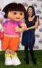 Salma Hayek at the 10th Anniversary of Dora The Explorer held on March 2nd 2010 at Nickelodeon Animation Studio 2