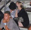 Jesus Luz and Madonna seen together at a Circus show on February 10th 2010 during the Rio festival in Brazil 4