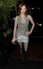 Rose McGowan at the Chanel and Charles Finch pre Oscar dinner on March 6th 2010 in Los Angeles California 1
