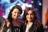 Mais Hamdan with singer Latifa
