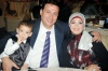 picture of egyptian actress sabrine together with her husband and son