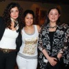 May Noor Al Sharif with Ghada Adel and Aiten Amer