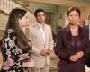 May Noor Al Sharif with Sawsan Badr