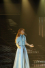picture of the Fifth Prime of star academy on March 19th 2010 with Nawal Zoghbi weaing a glam blue dress and singing on stage 3