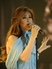 picture of the Fifth Prime of star academy on March 19th 2010 with Nawal Zoghbi weaing a glam blue dress and singing on stage 4