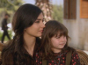 turkish model and actress Tuba Buyukustun picture from the turkish tv series asi with her little daughter 1