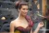 turkish model and actress Tuba Buyukustun on the set of a new turkish darama series of the name of Gonulcelen 15