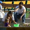 Alessandra Ambrosio seen with Jamie Mazur and their daughter Anja Mazur on March 29th 2010 as they head together to a park in Malibu 4