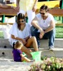 Alessandra Ambrosio seen with Jamie Mazur and their daughter Anja Mazur on March 29th 2010 as they head together to a park in Malibu 6