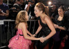 Noah Cyrus and her sister Miley Cyrus at The Last Song premiere held on March 25th 2010 at ArcLight Hollywood in Los Angeles 2