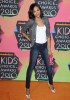 Zoe Saldana arrives at Nickelodeons 23rd Annual Kids Choice Awards held at UCLAs Pauley Pavilion on March 27th 2010 in Los Angeles California 1
