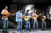 picture of the seventh prime of star academy 7 on April 2nd 2010 with Mohamad Ali from Egypt Abdul Aziz from Kuwait Sultan Rashed from KSA abd both Jordanian students Mohamad Ramadan and Basel Khoury in a guitar song
