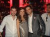 Jack Haddad with Mohamad Bash and Lara Scandar at her album promo event at Virgin Mega Store Beirut in March 2010